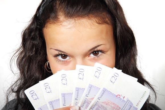 веер денег