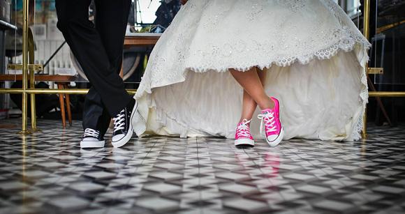 свадьба в кедах