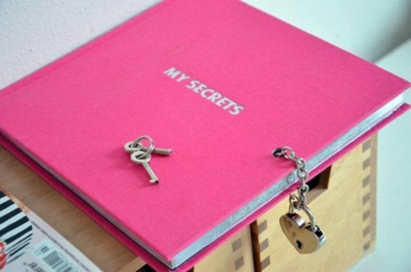 Как сделать замочек для личного дневника своими руками
