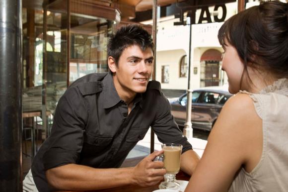 встреча в кофейне