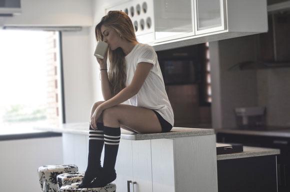 кофе с утра