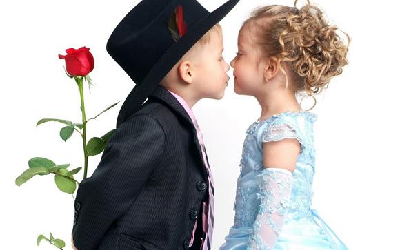 детская влюбленность