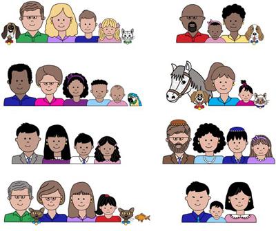 разные семьи