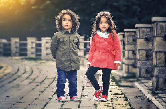 стильные детки