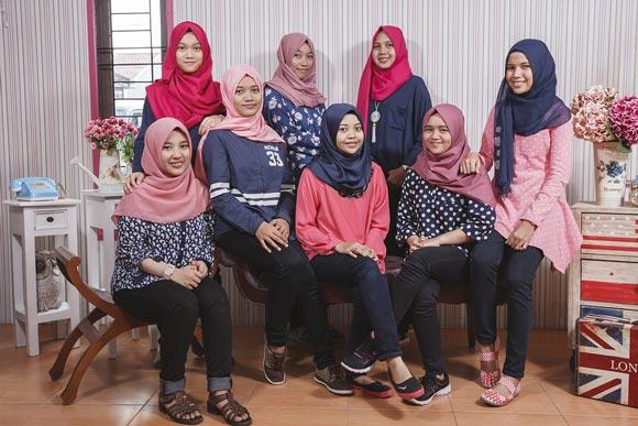 мусульманские девочки