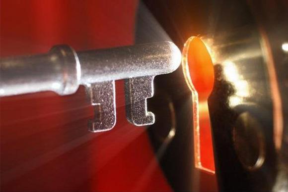 ключ и скважина