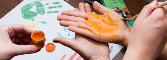 рисование руками