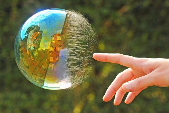 мыльный пузырь