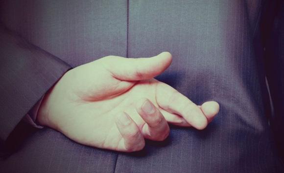 скрещенные пальцы